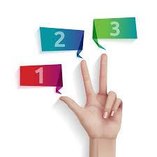 3 passos